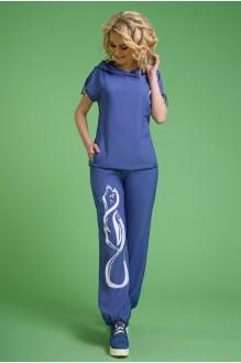 Euro-moda 099 джинс аппликация